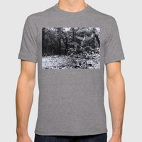 Lost Mens Fitted Tee Tri-Grey SMALL