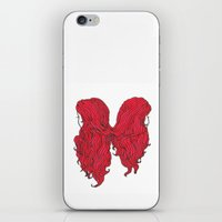 Hair I iPhone & iPod Skin