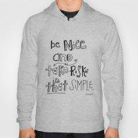 Nice + Risks = Happiness… Hoody