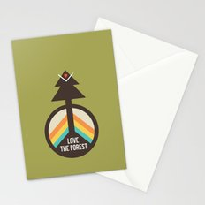 For the Love of the Forest Stationery Cards