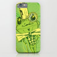 iPhone & iPod Case featuring Je suis Monsieur Grenouille by TheCore