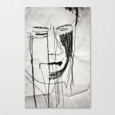Disappointment Stitch Canvas Print
