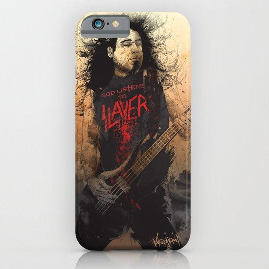 Tom Araya iPhone & iPod Case