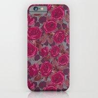 Roses In Mauve iPhone 6 Slim Case