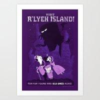 Lovecraftian Amusement P… Art Print