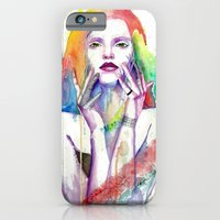 iPhone & iPod Case featuring Nobody Knows by Veronika Weroni Vajdová