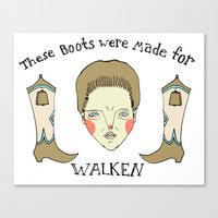 Made For Walken Canvas Print