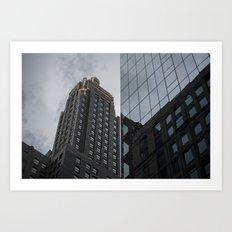 Carbide & Carbon Building Art Print