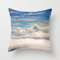 When I Had Wings II Throw Pillow