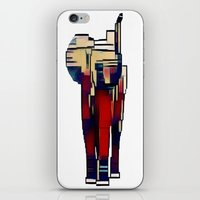 Elephant in the Abstract iPhone & iPod Skin