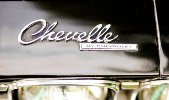 Vintage Chevelle - Cool Retro Chevy Art Print