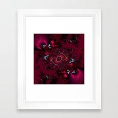 Butterfly Romance Framed Art Print
