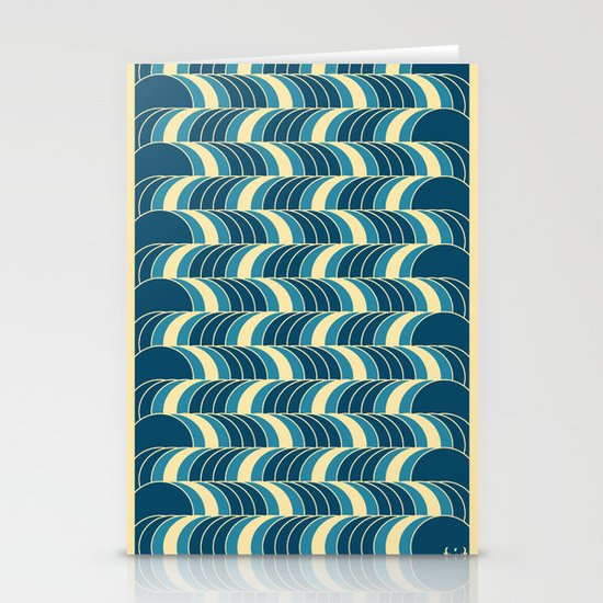 Barrels Pattern Stationery Card