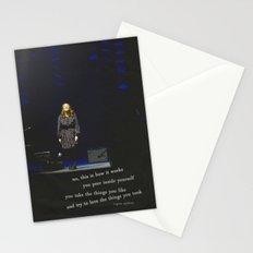 regina spektor live in toronto - on the radio Stationery Cards