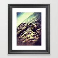 ROCKY ROAD FISH Framed Art Print