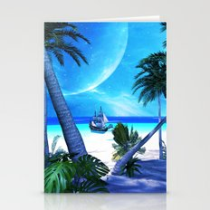 View over the ocean Stationery Cards