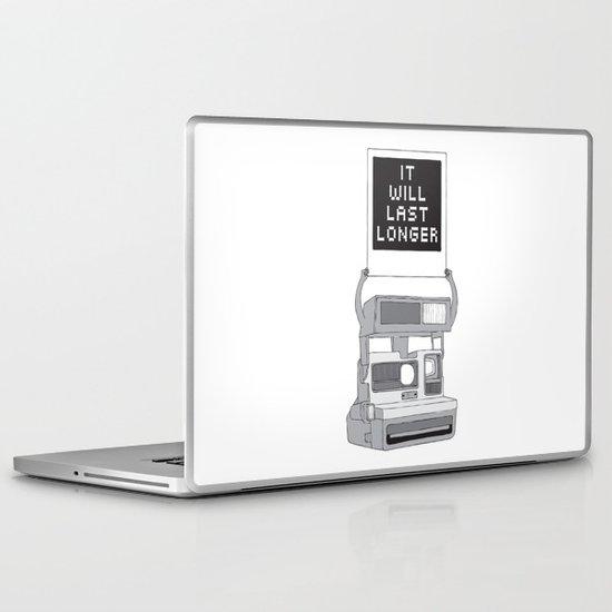 Take A Picture Laptop & iPad Skin