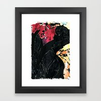 I am Angry with You Framed Art Print