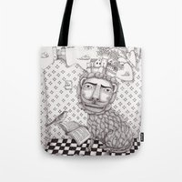The Lion's Story Hour Tote Bag