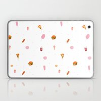 Junk Food Pattern Laptop & iPad Skin