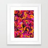 Good Vibes Background Framed Art Print