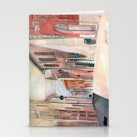 Italy, Watercolor Stationery Cards