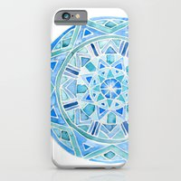 Blue Mandala 1 iPhone 6 Slim Case