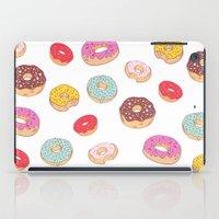 Donuts pattern iPad Case