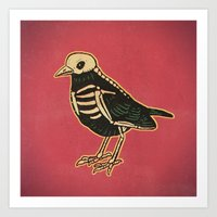 Dead Bird Art Print