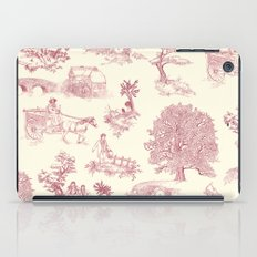 Shire Toile - Red iPad Case