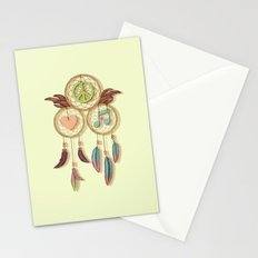 Peace, Love and Music Stationery Cards