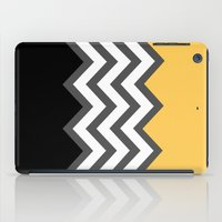 Color Blocked Chevron 6 iPad Case