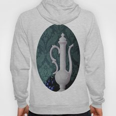 Decanter And Grapes Hoody