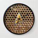 Retro Classic Old Vintage Communicator radio iPhone 4 4s 5 5s 5c, ipod, ipad, pillow case and tshirt Wall Clock