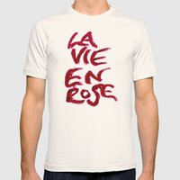La Vie En Rose Mens Fitted Tee Natural SMALL