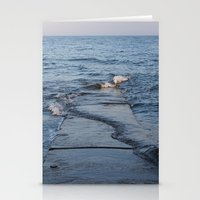 Across The Pier Stationery Cards