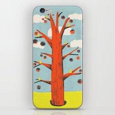 Red Tree, Yellow Birds iPhone & iPod Skin