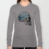 Long Sleeve T-shirt featuring Brain Waves by Chase Kunz