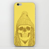 Skull Girl 3 iPhone & iPod Skin