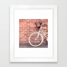 Beautiful Bike Framed Art Print
