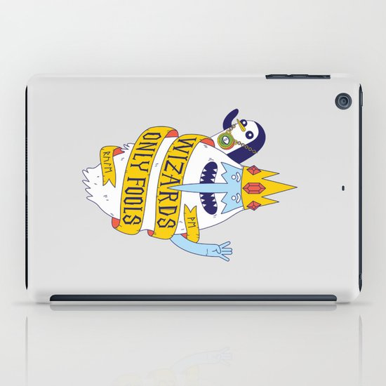 Wizards Only Fools iPad Case