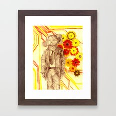 Steampunk Ram Framed Art Print