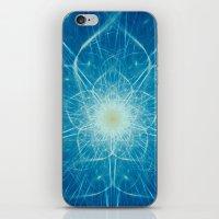 Beautiful Intricate Digital Flower iPhone & iPod Skin