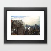 Such Great Heights Framed Art Print