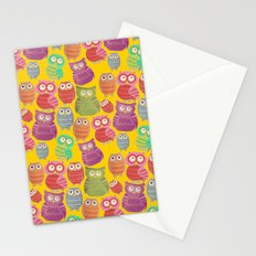 Bright Owls Stationery Cards