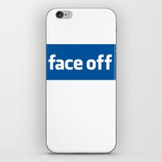 2010 - Face Off iPhone & iPod Skin