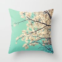 Whisper! Throw Pillow