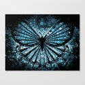 My Blue Butterfly Canvas Print