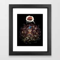 More BRAINS for OZ Framed Art Print