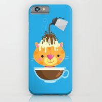 iPhone & iPod Case featuring Affogato by Reg Silva / Wedgienet.net